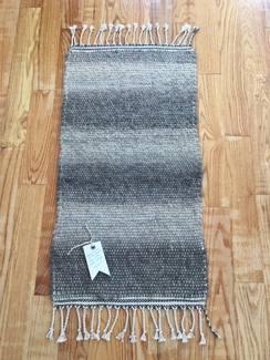 Photo of Cindy's Handwoven Alpaca Scatter Rug