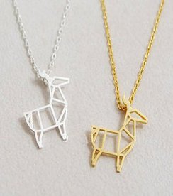 Photo of Alpaca Charm Necklace