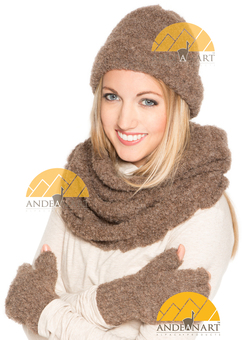 Photo of Boucle Beanie Alpaca Hat - Unisex