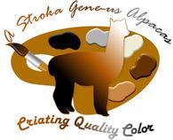 A Stroka Gene-us Alpacas - Logo