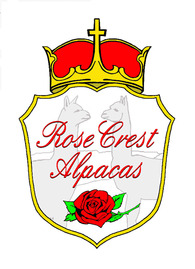 Rose Crest Alpacas  - Logo