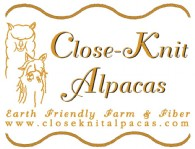 CLOSE-KNIT ALPACAS - Logo