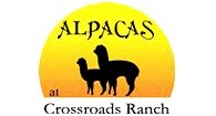 Alpacas at Crossroads Ranch - Logo