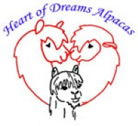Heart of Dreams Alpacas - Logo