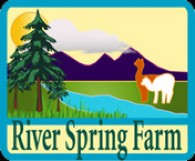 River Spring Alpaca Farm - Logo