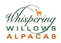 Whispering Willows Alpacas at Fishback Creek Farm - Logo