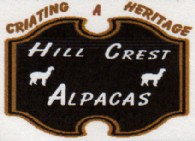 Hill Crest Alpacas - Logo