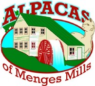 Alpacas of Menges Mills - Logo