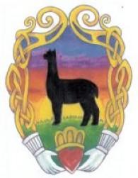 Claddagh Farm Alpacas - Logo
