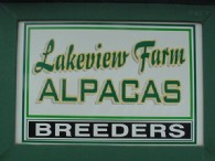Lakeview Farm Alpacas - Logo