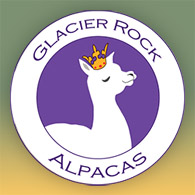 Glacier Rock Alpacas - Logo