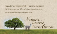 Nature's Reserve Alpacas - Logo