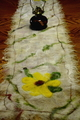 Photo of Nuno Felted Table Runner