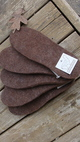 Photo of Thick Felted Alpaca Boot Inserts 