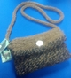 Photo of Alpaca Purse - Black and Brown