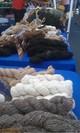 Photo of True black  100% alpaca yarn from Claudia Joy and Zippo