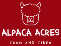 Alpaca Acres Farm and Fiber - Logo