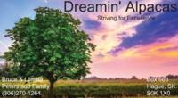 Dreamin' Alpacas - Logo