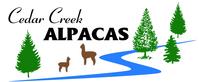 Cedar Creek Alpacas - Logo