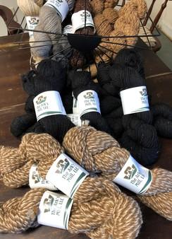The Ark's hand made alpaca yarn