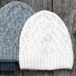 Photo of Cable knit hat