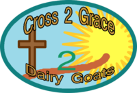 Cross2Grace Dairy Goats & GoatGoat Dairy Goats - Logo