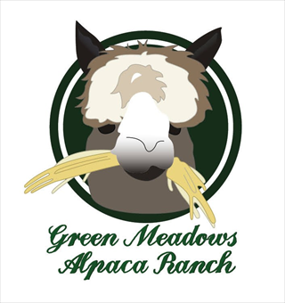 Green Meadows Alpaca Ranch - Logo