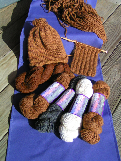 ...to wonderful skeins and products!