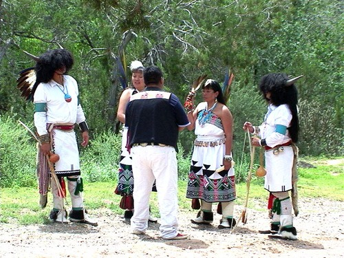 Walatowa Tribal Dancers of the Jemez