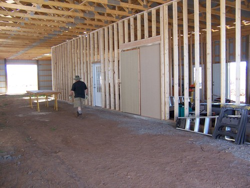 walls for shop and fiber/vet room