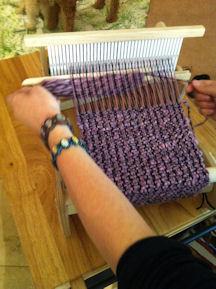 Weaving on a Cricket Loom