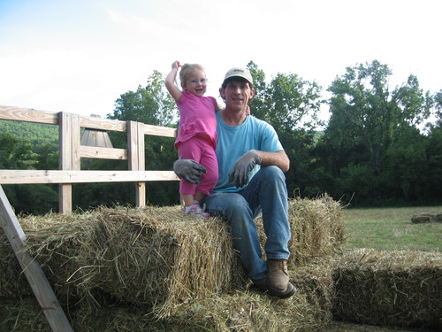Princess Madison having fun wth Dad