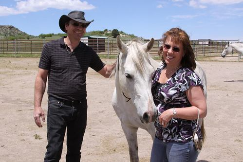 Ken and Carla Paton with Spirit