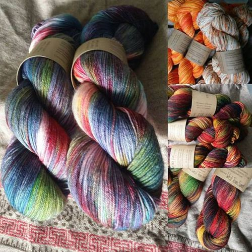 Texas hand dyed yarn