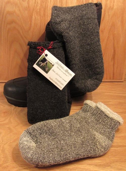 Heavy Thermal [top] & Quarter Thermal [bottom] ALPACA socks. ~LUXURIOUS WARMTH!!!~