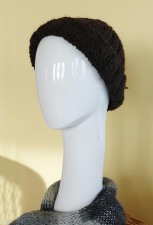 Cable Knit Suri Cap & Scarf