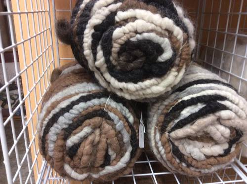 Rug yarn, core spun 3# each