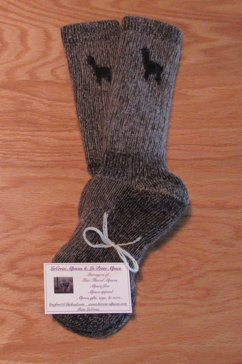 d3f02e03d9 An ALPACA sock designed for optimum COMFORT!