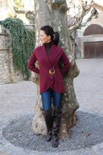 Pia Cardigan with Broch