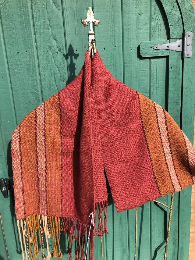 Winter weight shawl