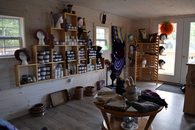 New Whitefield Gift Shop Offers Alpaca Products