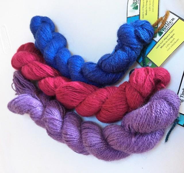 100% Suri Yarn-Dyed