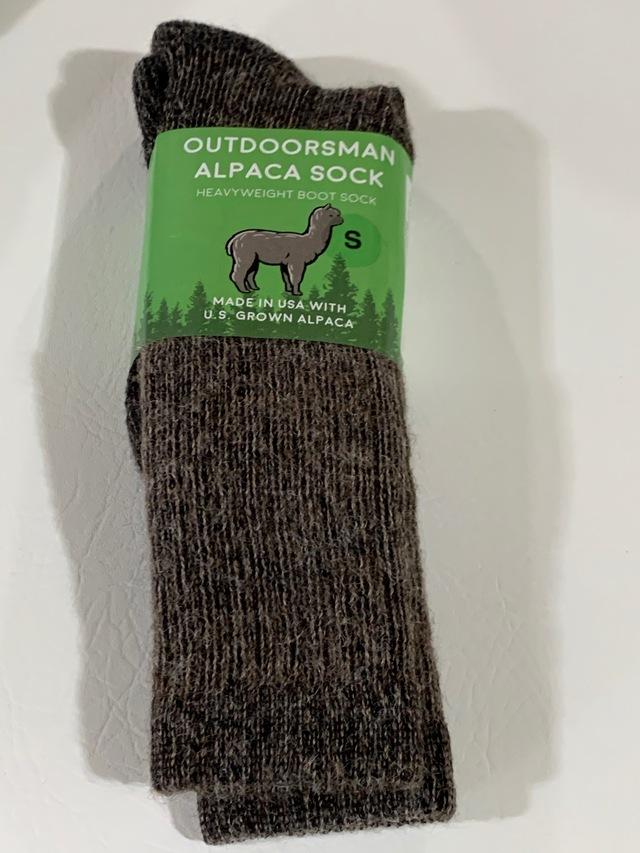 Outdoorsman Alpaca Boot Sock
