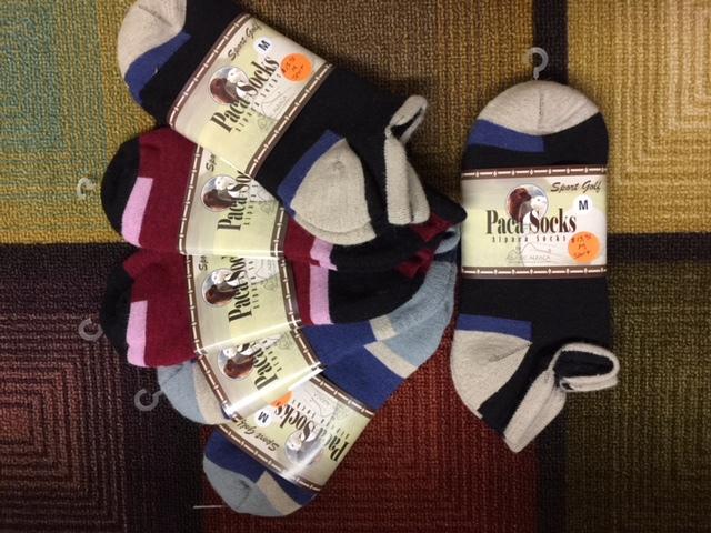 Plenty of warm alpaca socks!