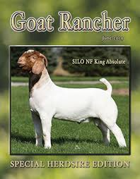 Featured in the June issue of Goat Rancher (pages 42, 44, & 46).