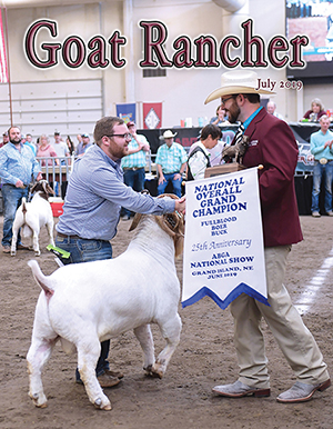 Featured in the July issue of Goat Rancher (pages 42)