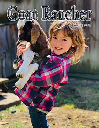 Featured in the August issue of Goat Rancher (pages 17 & 18).