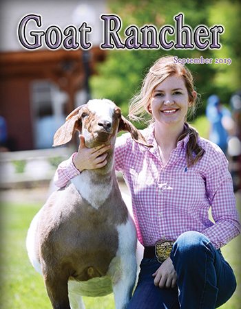 Featured in the September issue of Goat Rancher (pages 45 & 46).