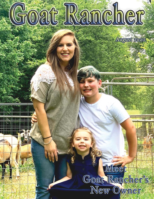 Featured in the August issue of Goat Rancher (page 20-21).