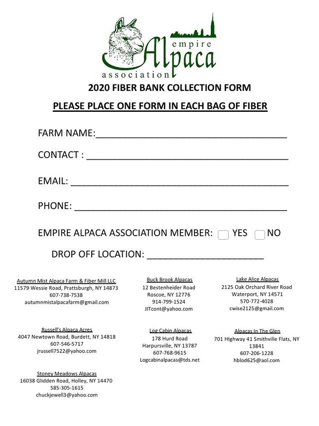 EAA Fiber Project Form